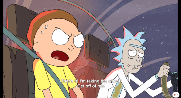 Rick & Morty on Netflix